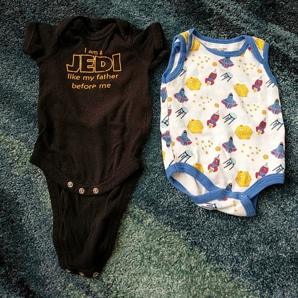 Star Wars Other - 6 months Star Wars and space onesies